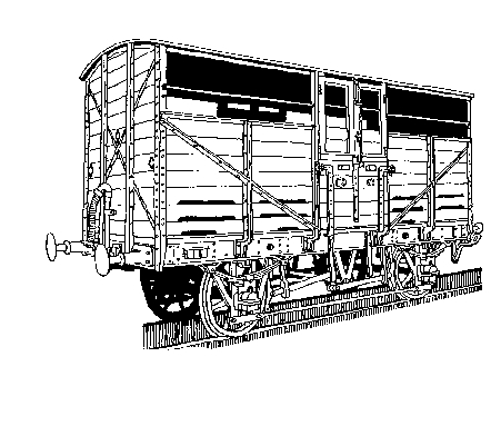 1010W Dia. W1/W5 Cattle Wagon