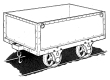 3002R Croesor Sheet Iron Wagon