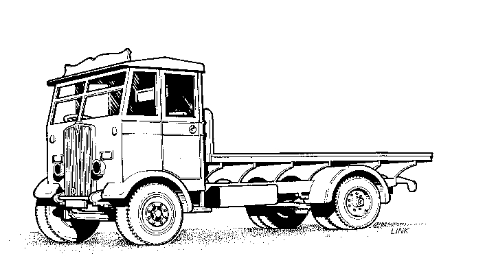 4001 AEC Monarch Lorry with Flatbed Body