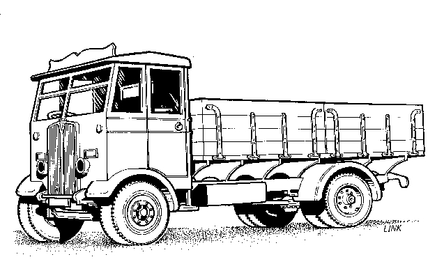 4002 AEC Monarch Dropside Lorry, Cooper Craft