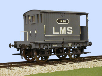S4032W MR 10 Ton Brake Van