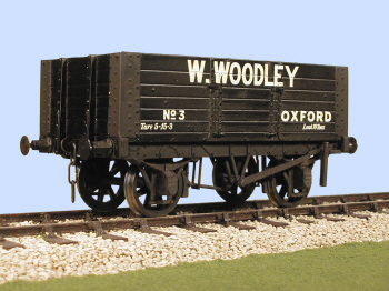 S4035W(W) Gloucester PO 6 Plank Side Door Wagon (W)