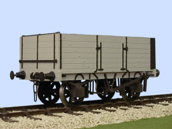 S4036W Gloucester PO 6 Plank Side/End Door Wagon