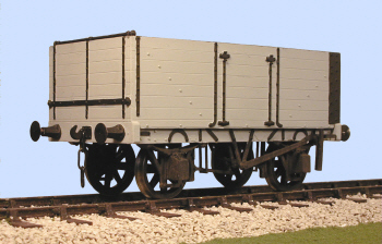 S4059W(L) Gloucester PO 7 Plank Side/End Door Wagon (L)