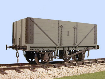 S4060W RCH PO 7 Plank Side Door Wagon