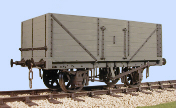 S4061W RCH PO 7 Plank Side/End Door Wagon