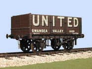 S4036W(U) Gloucester PO 6 Plank Side/End Door Wagon (U)