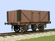 S4040W Charles Roberts PO 7 Plank Side Door Wagon