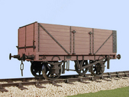 S4041W Charles Roberts PO 7 Plank Side/End Door Wagon