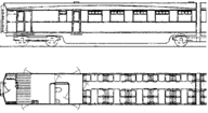 MC10 LNER Coronation Bk3rd-Kitchen