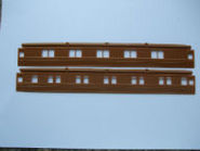 SID 848 Pair Teak Coach Sides (From 8848)